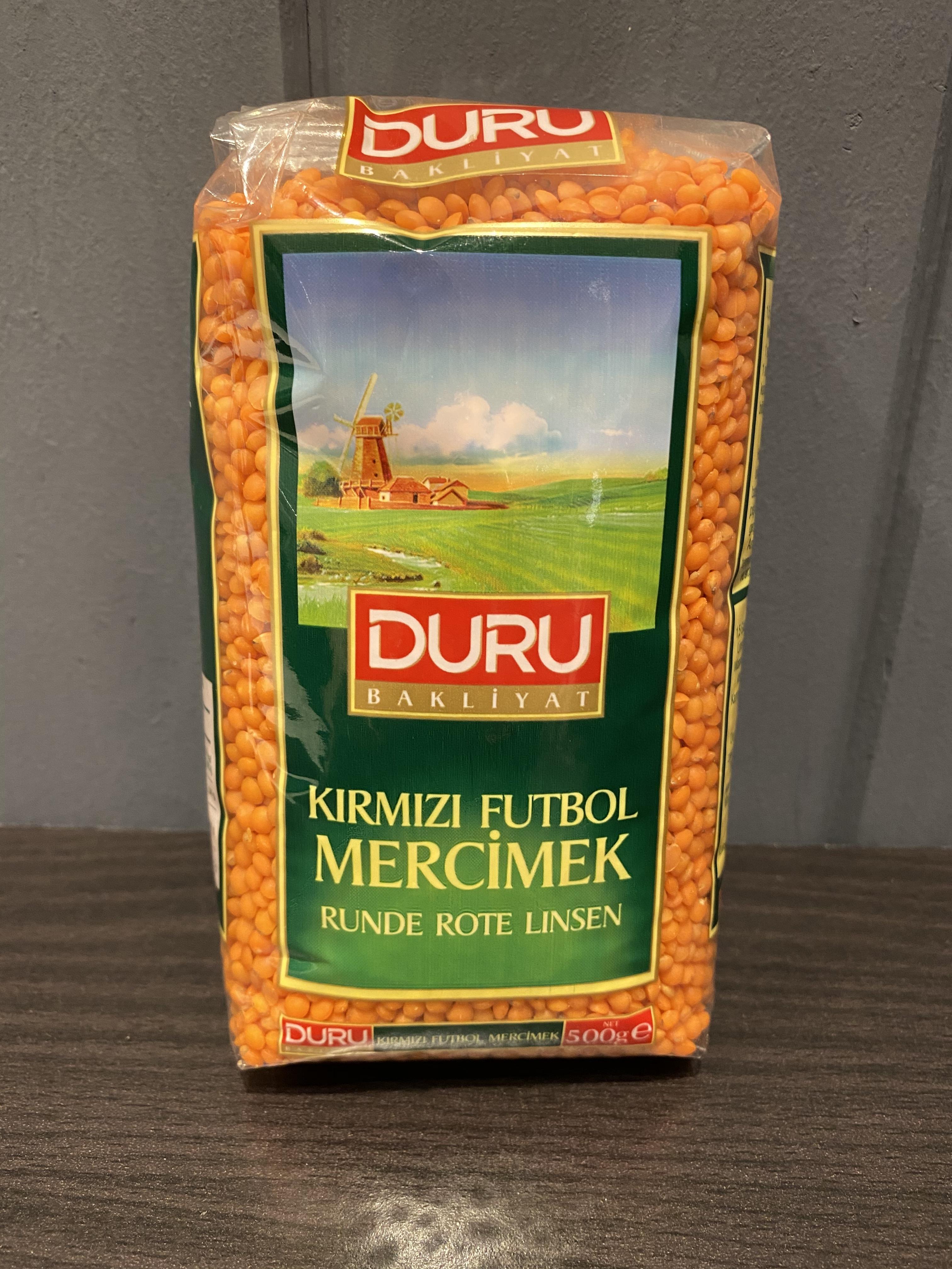 ドゥル 乾燥レッドレンズ豆 500g