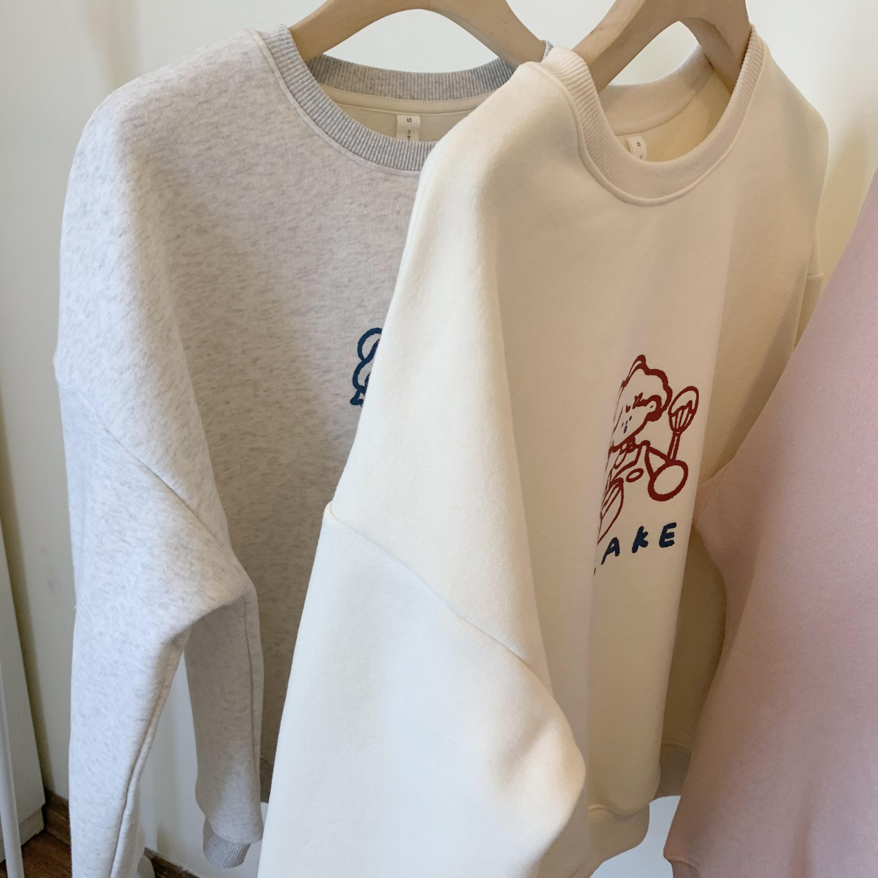 〈カフェシリーズ〉コックさんの淡色セーター【Shuff light colorsweater】