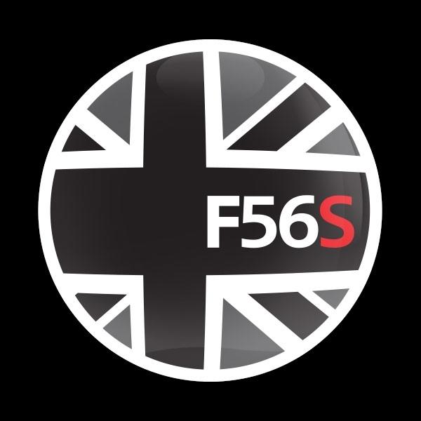 ゴーバッジ(ドーム)(CD0924 - FLAG BLACKJACK F56S) - 画像1