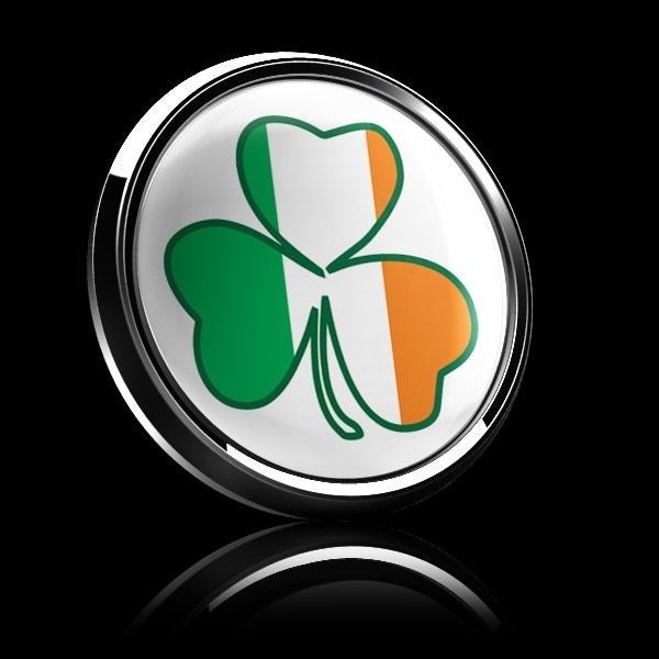 ゴーバッジ(ドーム)(CD0988 - Seasonal Irish Shamrock 1) - 画像4