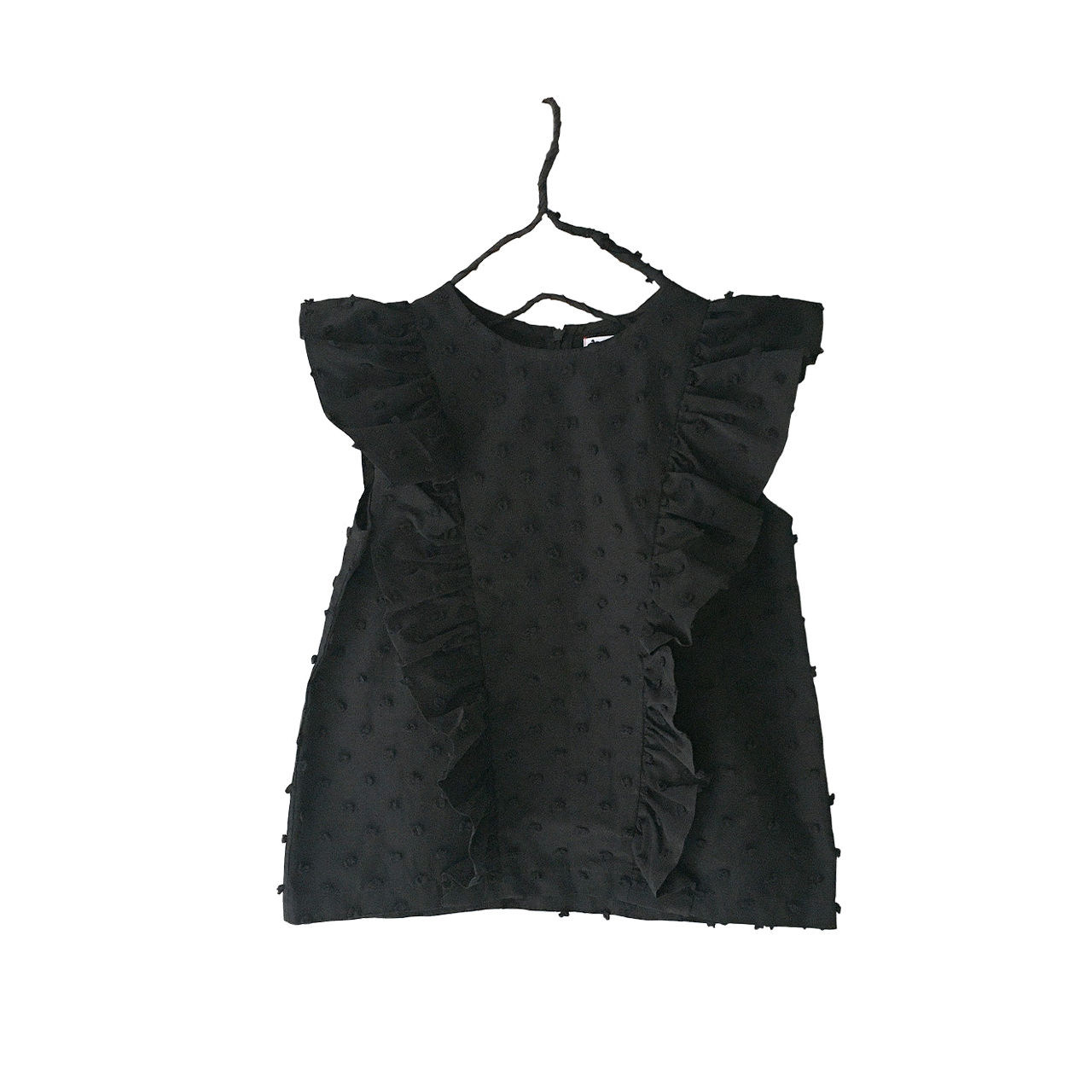 BONBON CUT JQ DOUBLE FRILL TP / WOMEN