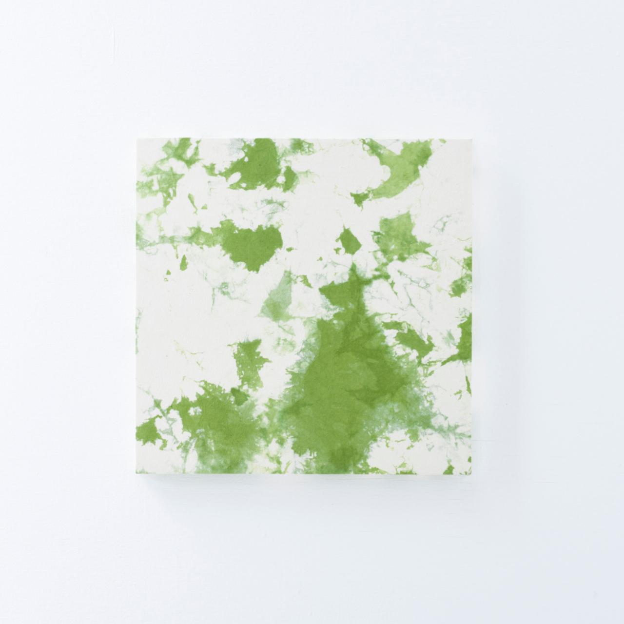 ファブリックボードむら染め(緑)
