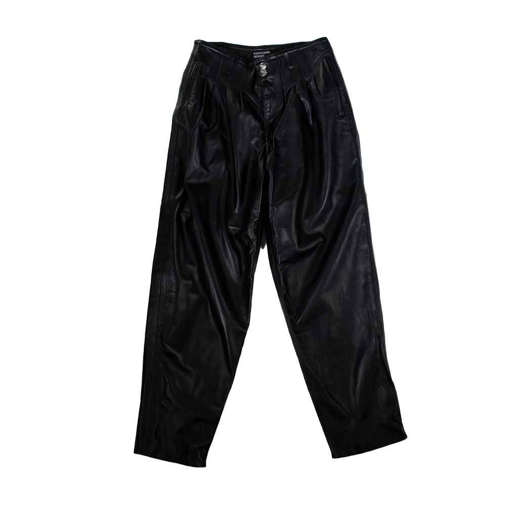ENFANTS RICHES DEPRIMES Leather Trousers