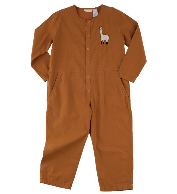 Tinycottons Llama woven onepiece