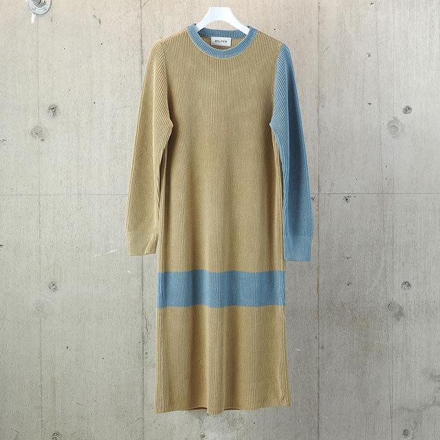 BELPER LONG KNIT DRESS