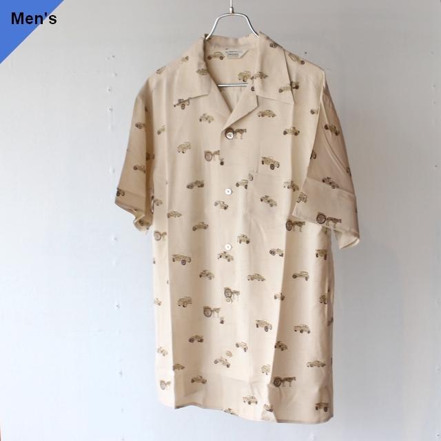 Orgueil オルゲイユ Aloha Shirt アロハシャツ OR-5046 ベージュ