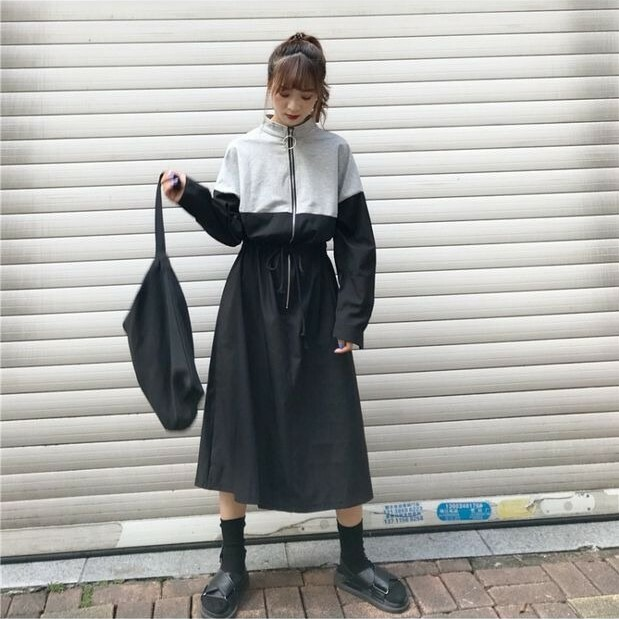 【dress】ストリート系ファッション人気アイテムカジュアルワンピース15010743