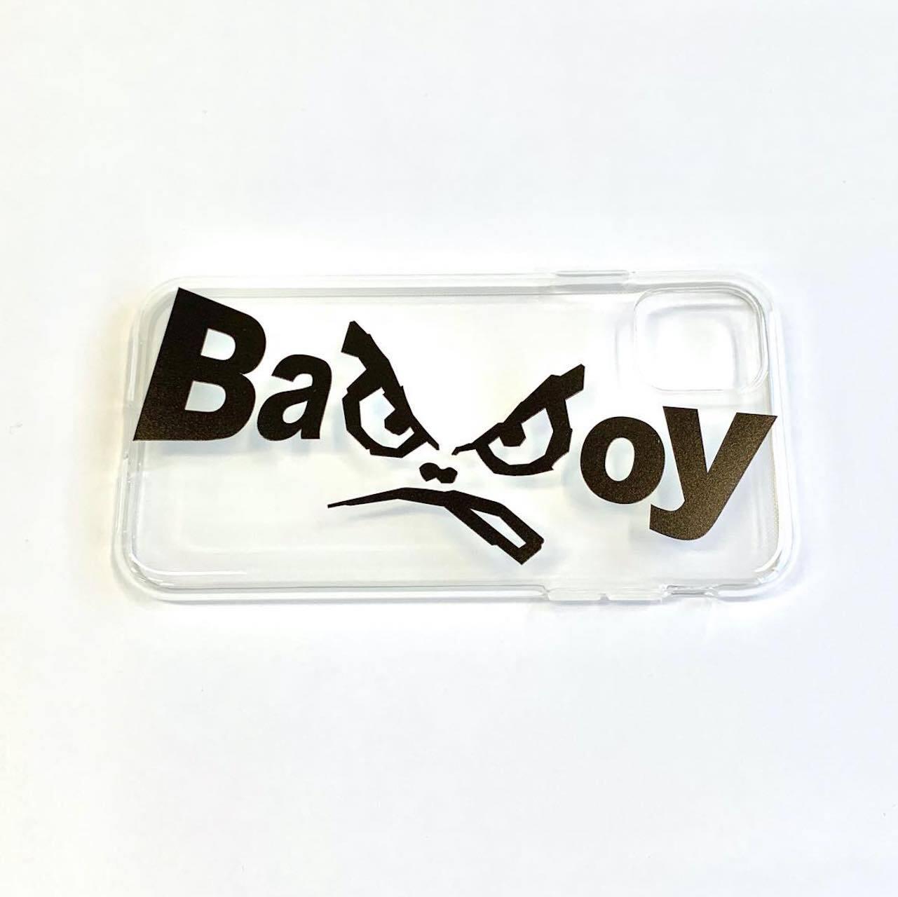 IPhone11専用ケース【BAD BOY】クリア