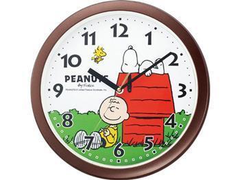 スヌーピー置時計