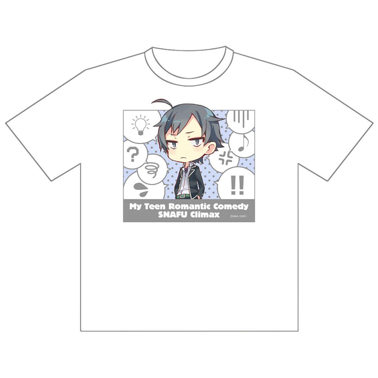 【4589839354127】やはり俺の青春ラブコメはまちがっている。完 八幡 ドライメッシュTシャツ/XLサイズ