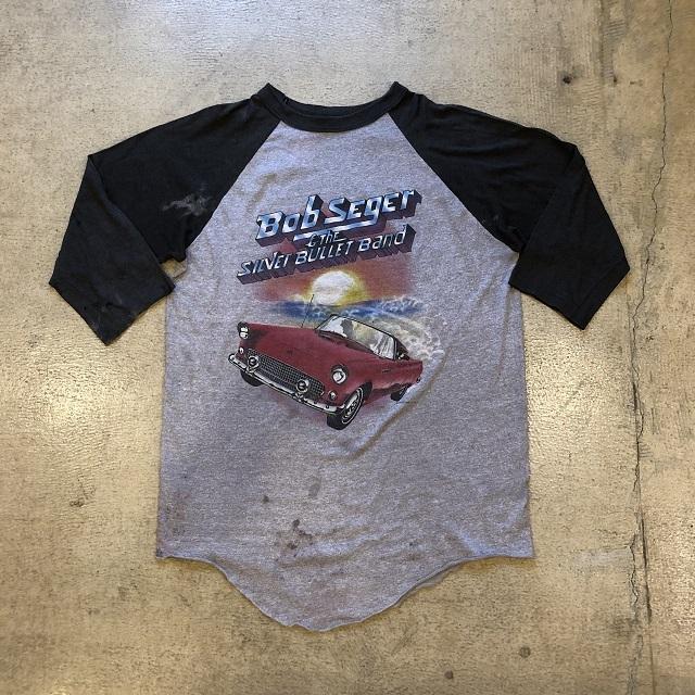 80's Bob Seger Tour T-shirt #TP-468