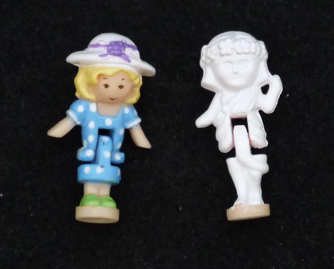 ポーリーポケット 1990年 ひみつのお庭 完品