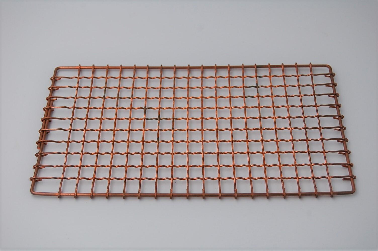 炭コンロ用銅製金網
