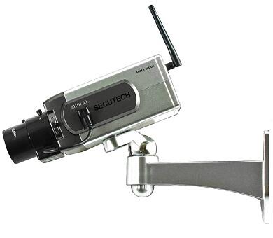 動作検知旋回ワイヤレスタイプダミーカメラ(D-1400A)