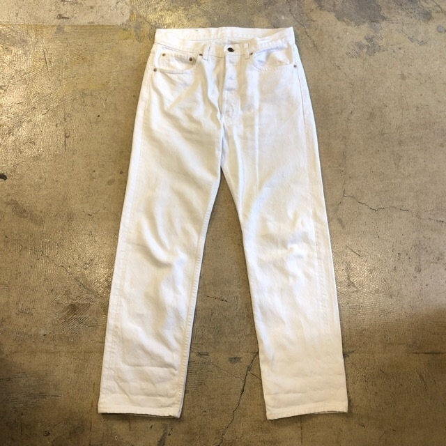 Levi's 501 White Made In Usa