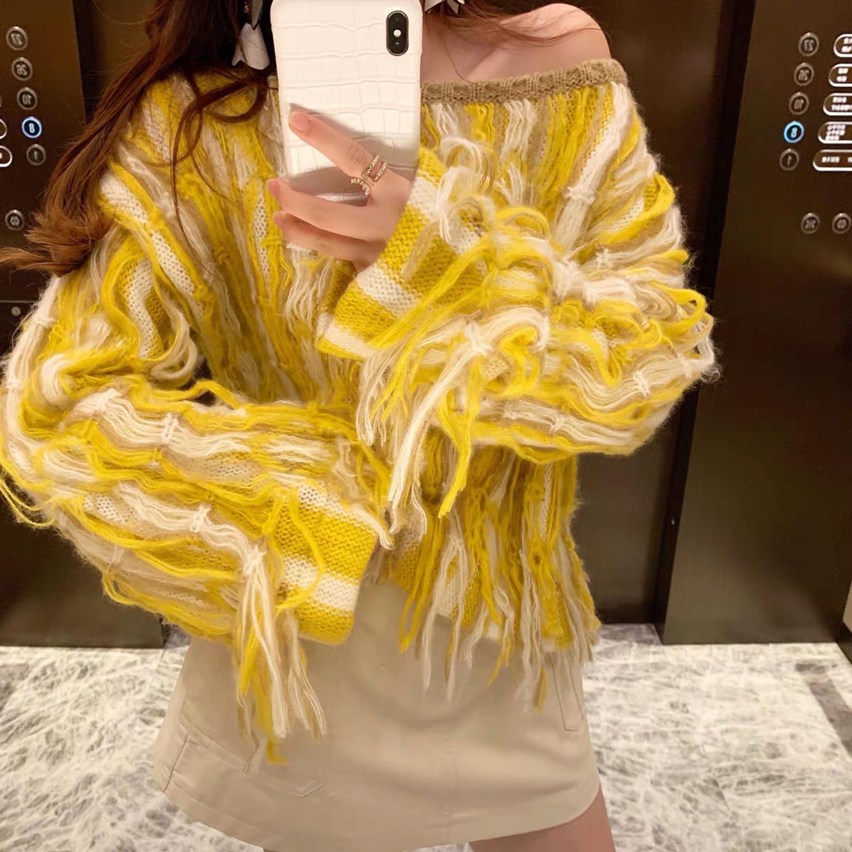 unique design knit