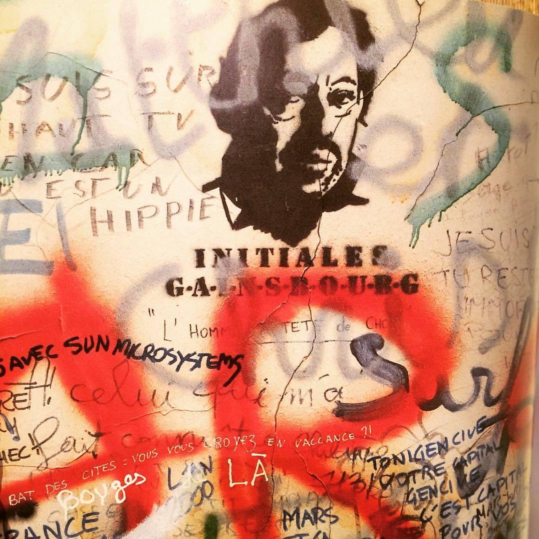 セルジュ・ゲンスブールの家の壁 写真集「Rue Gainsbourg」 - 画像3