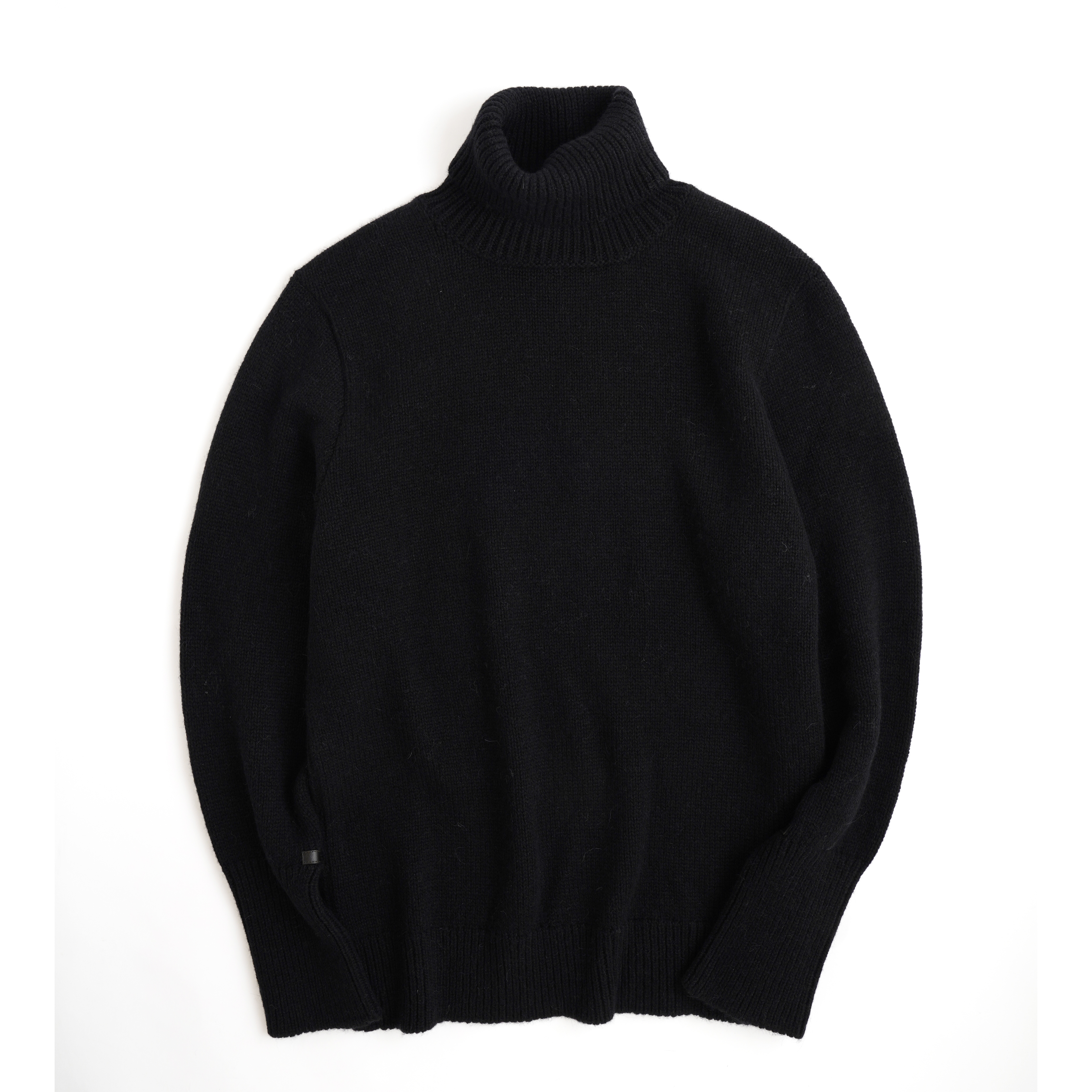 THE INOUE BROTHERS/Turtle Neck Sweater/Black