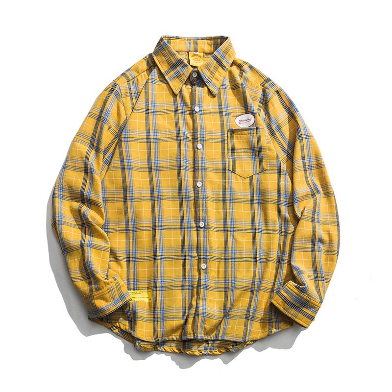 【UNISEX】フランネルシャツ【3colors】