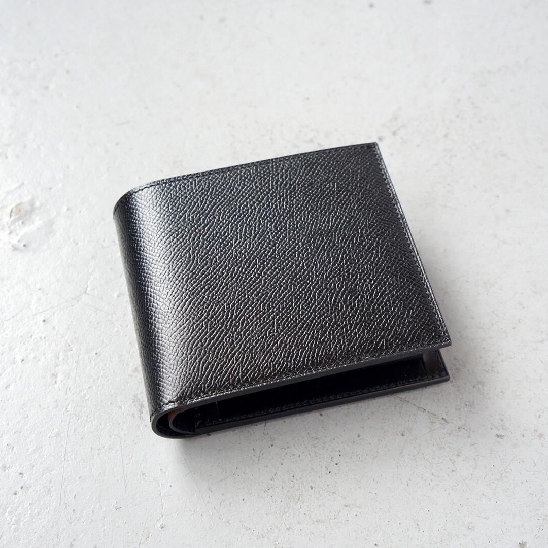 二つ折財布 <Regulus> ブラック