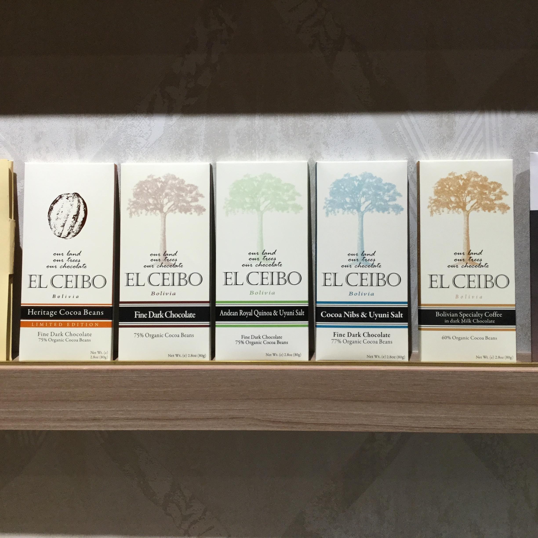 【EL CEIBO/エルセイボ】77%カカオニブ&ウユニ塩湖産ソルトチョコレート