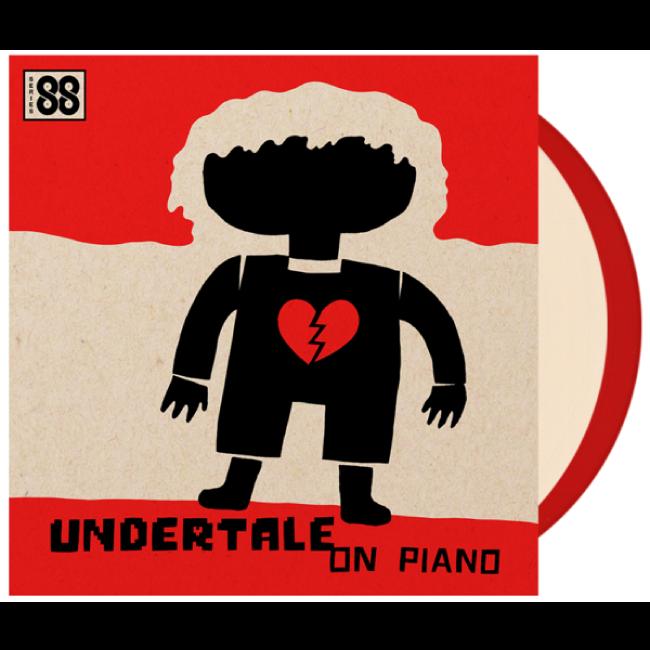 【UNDERTALE(アンダーテイル)】アンダーテイル・オン・ピアノ(シリーズ88)2LP - 画像1