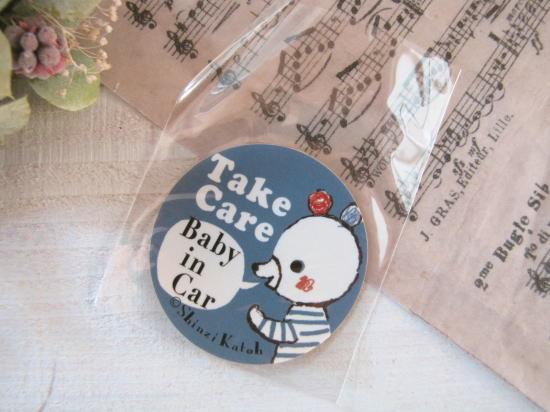 Shinzi Katoh*Baby in Car 防水加工ステッカー/セレクト雑貨
