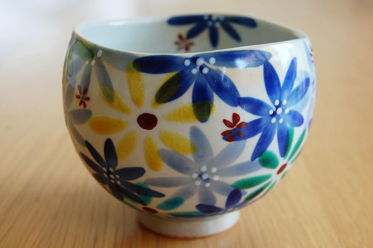 いっぷく碗 花の宴-utage-青