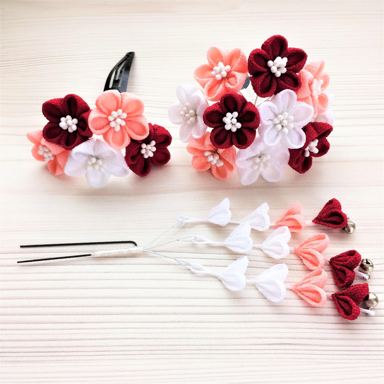 七五三 小花のかんざし