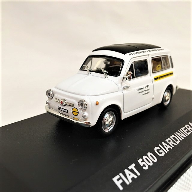 FIAT 500 GIARDINIERA SIP 1967 1/43【Veicoli】【1セットのみ】【税込価格】