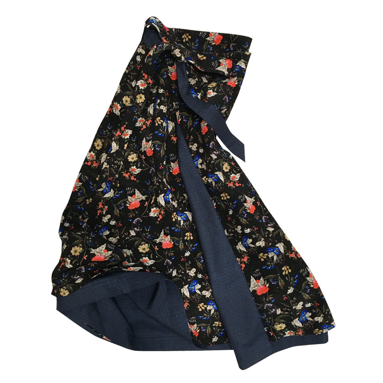 Black Flower - Long Flare - Oshima