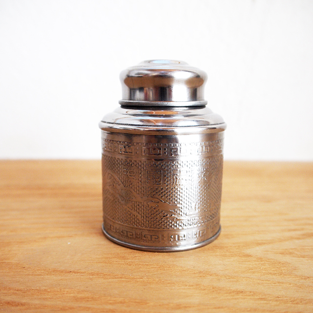 【オランダ】 Dille & Kamille (ディル&カミーユ) ミニ茶筒 茶缶 Sサイズ