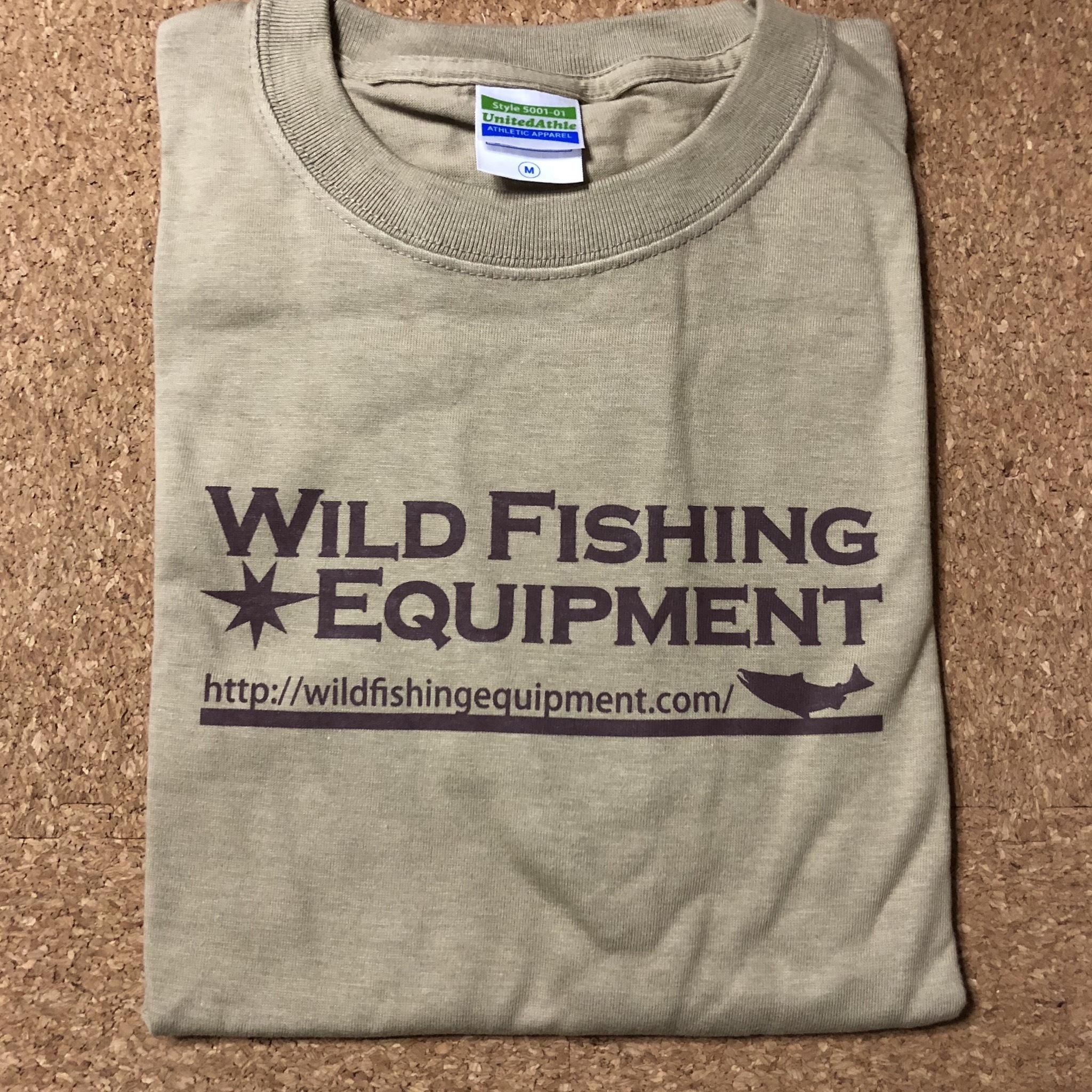 WildfishingequipmentオリジナルTシャツ【ベージュ】