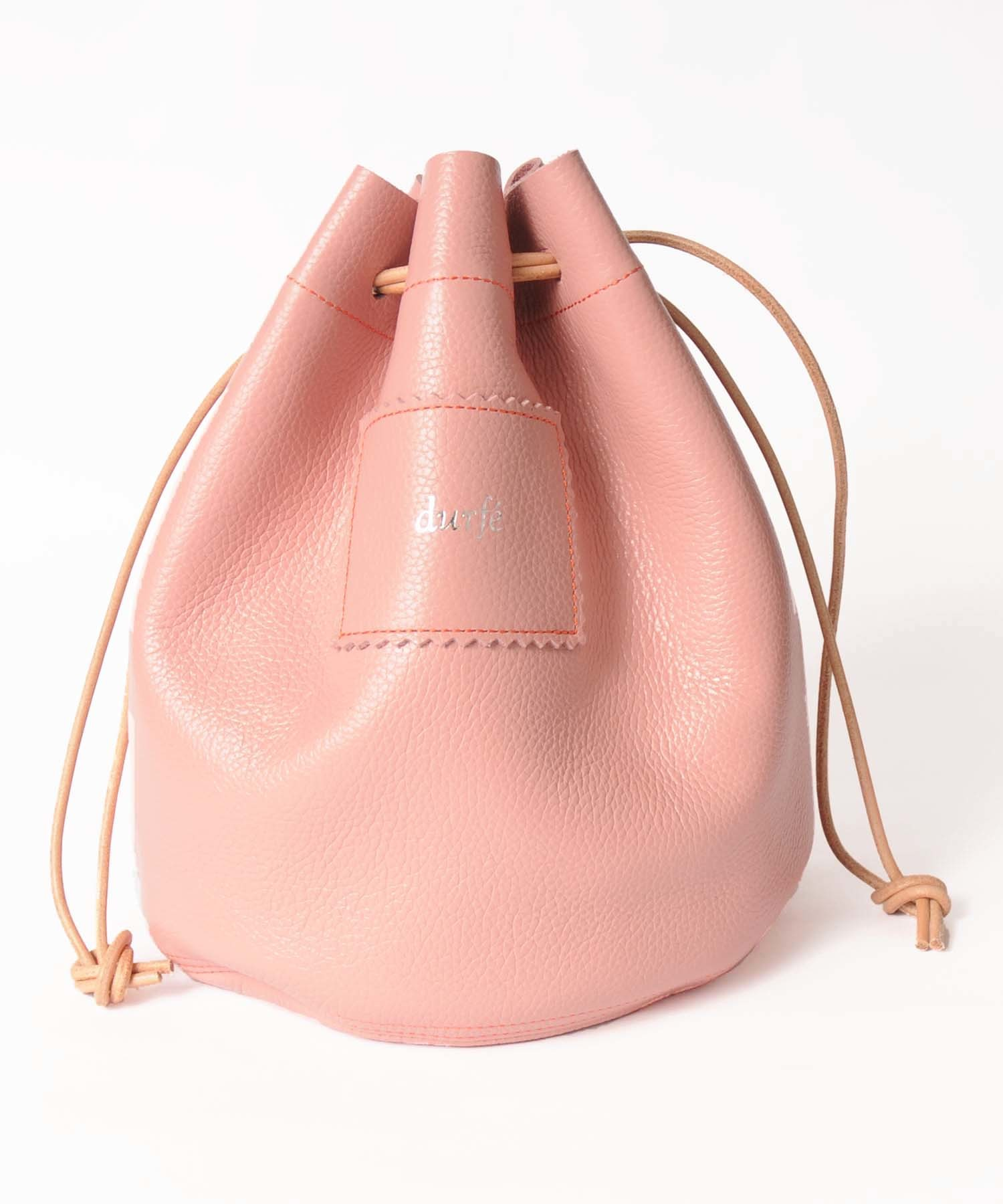 df18SS-FG01 LEATHER CIRCLE BAG