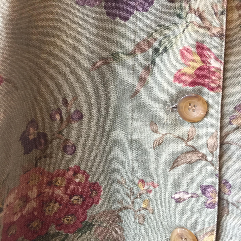 vintage flower outer