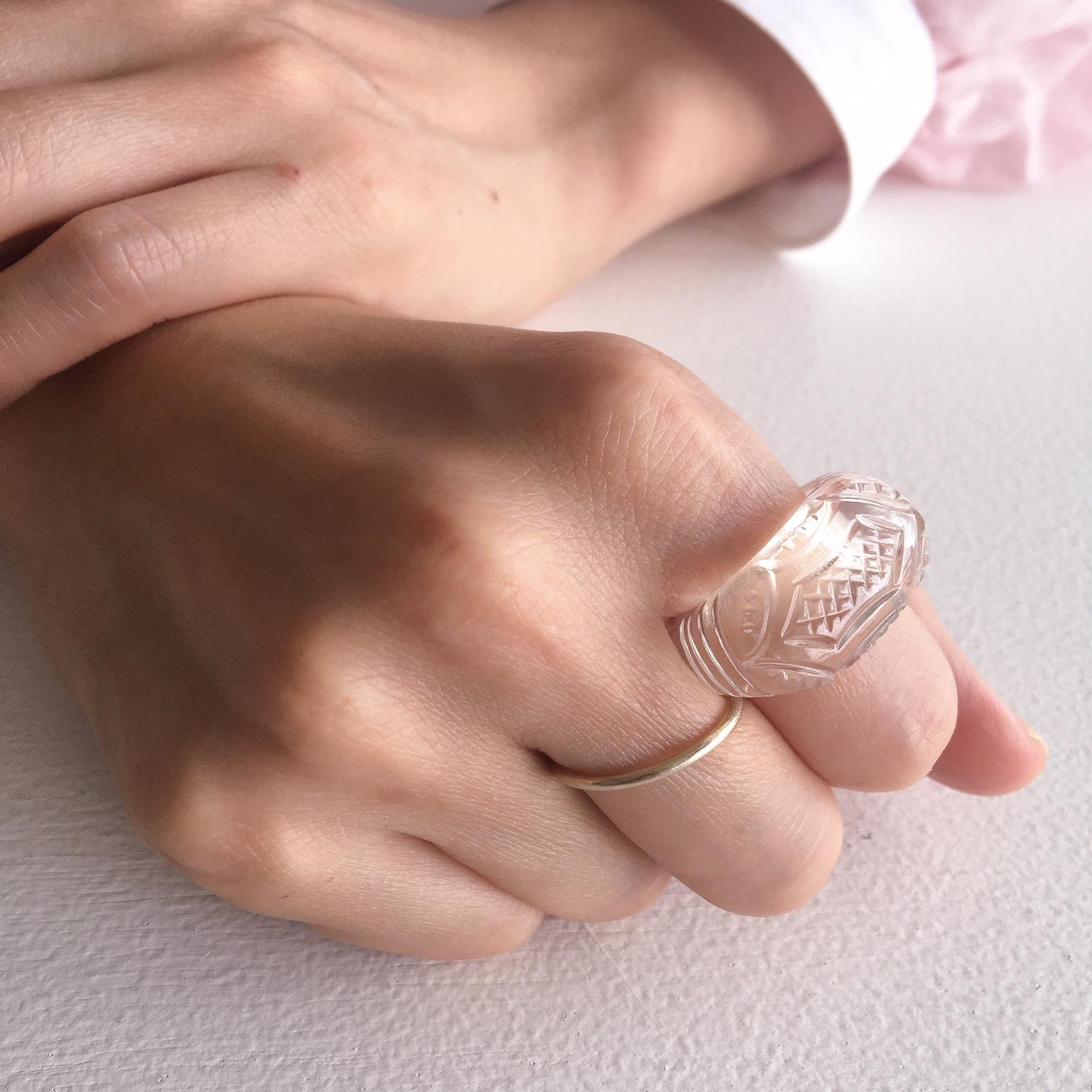 Crystal Ring, Design No.2