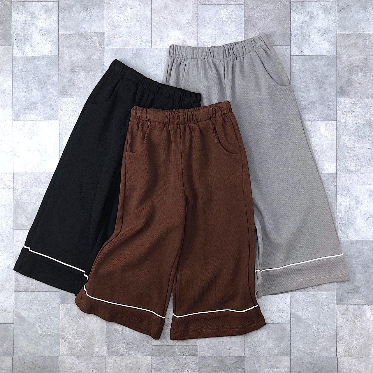 スウェットガウチョパンツ(3カラー)no.709006 #子供服 #子ども服 #男の子 #女の子 #パンツ