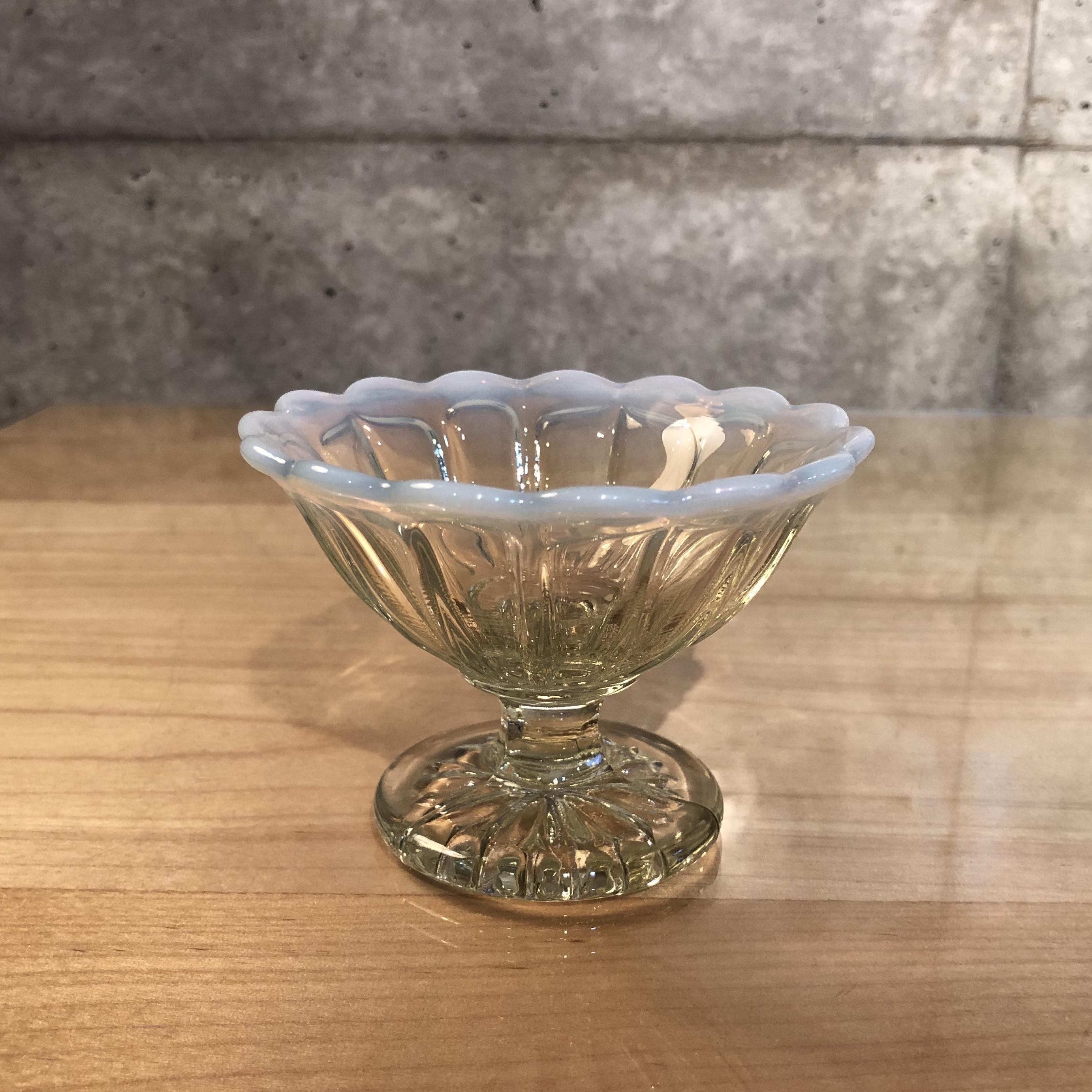 大正浪漫 ミニアイスクリームグラス 古代色