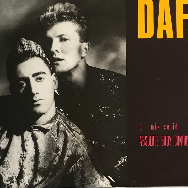 【12inch・英盤】DAF / Absolute Body Control