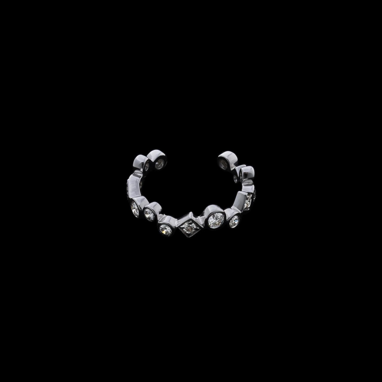 jewelG イヤカフ K18/ダイヤモンド