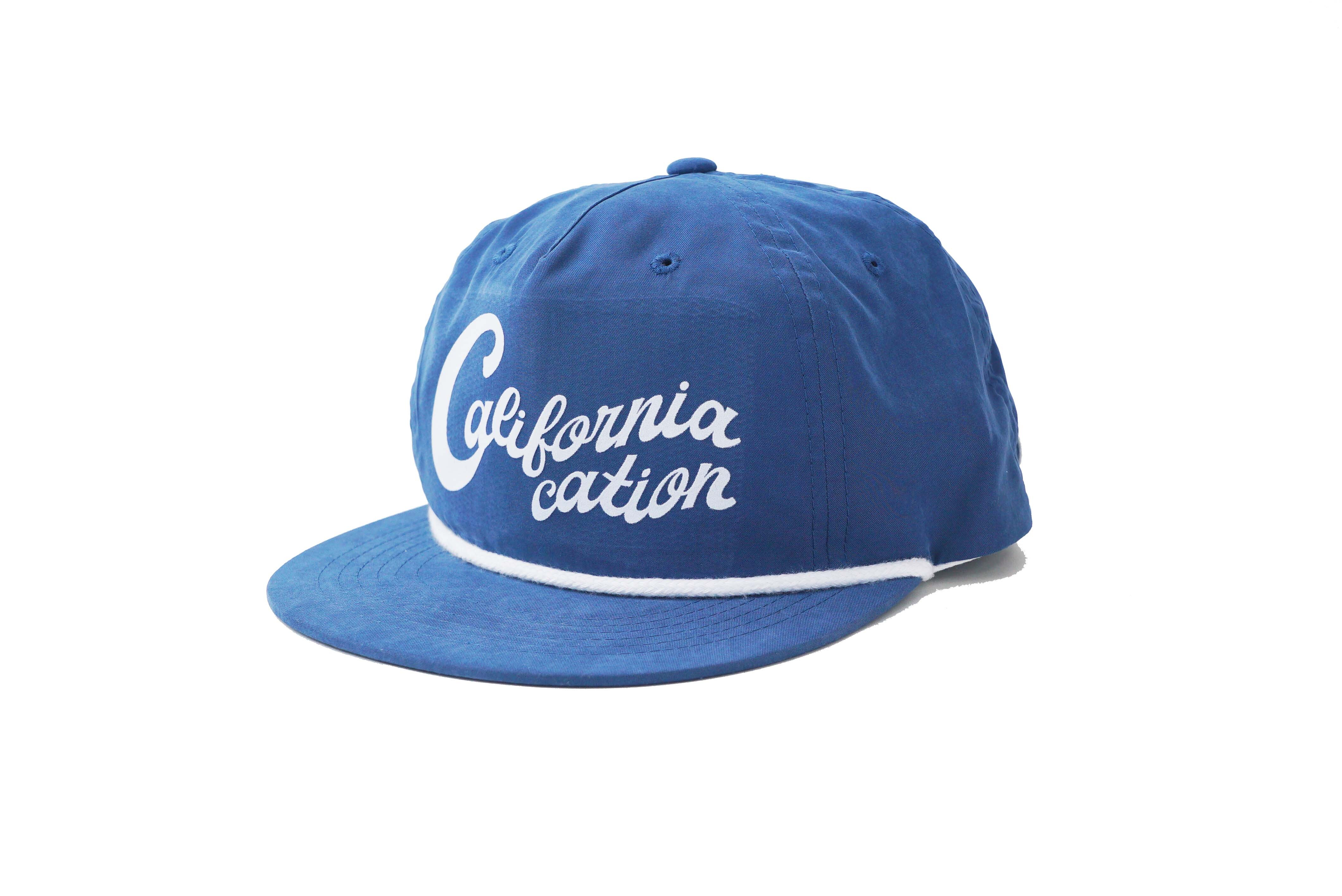 SURFSKATECAMP #Californiacation Cap Blue ¥6.300+tax