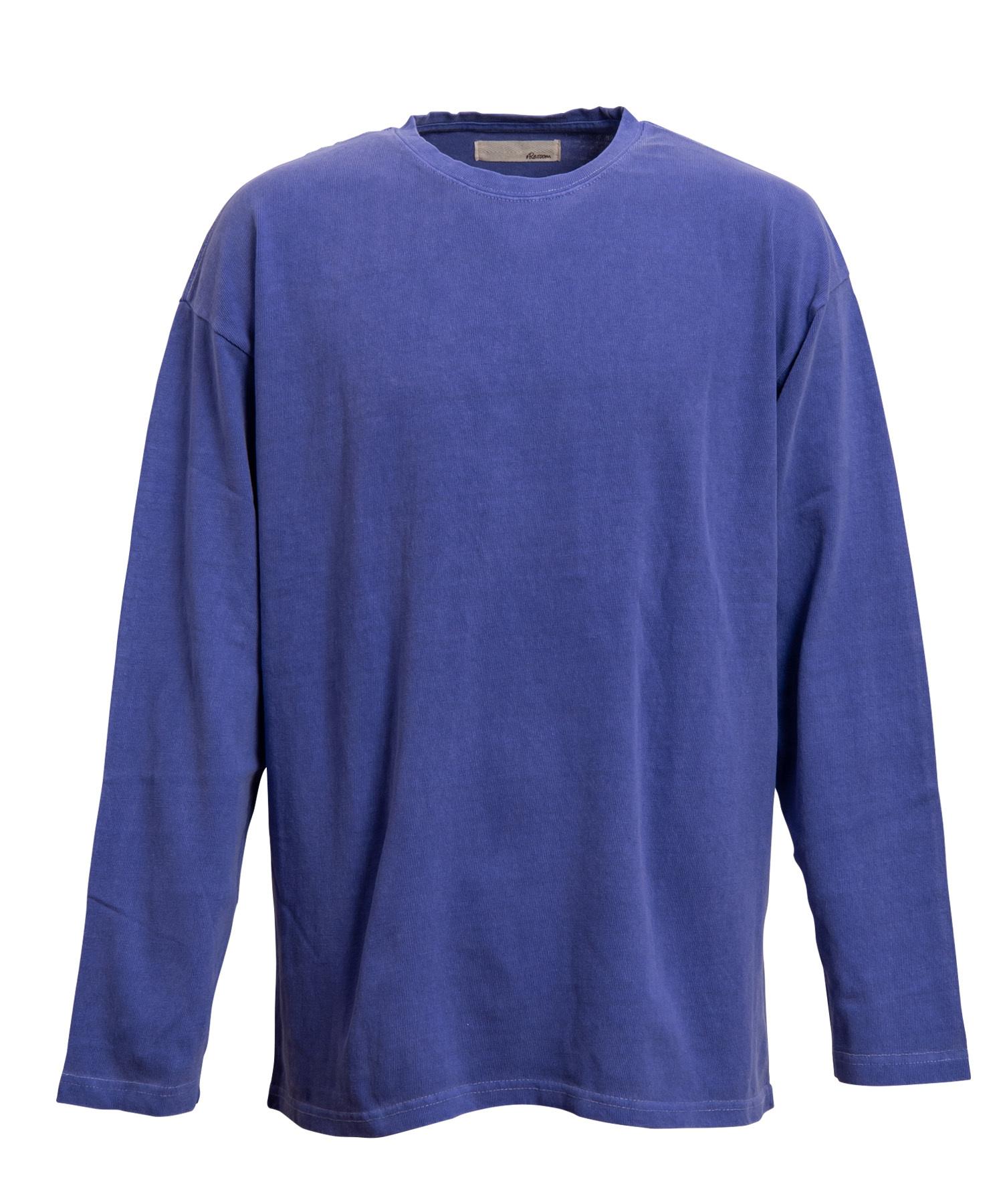 PIGMENT WASH BIG LONG T-shirts[REC148]