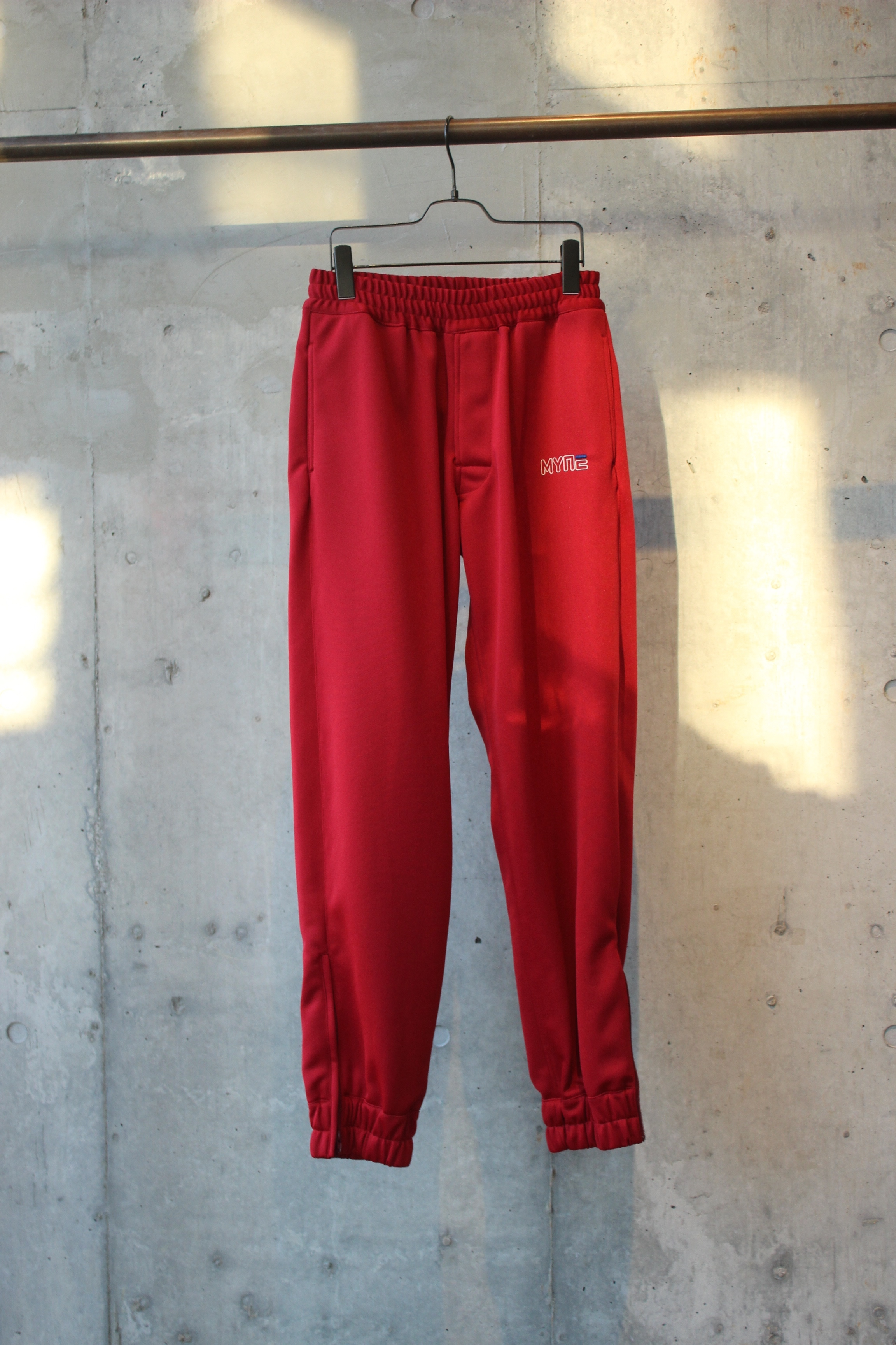 【50%OFF】track pants / RED - 画像1
