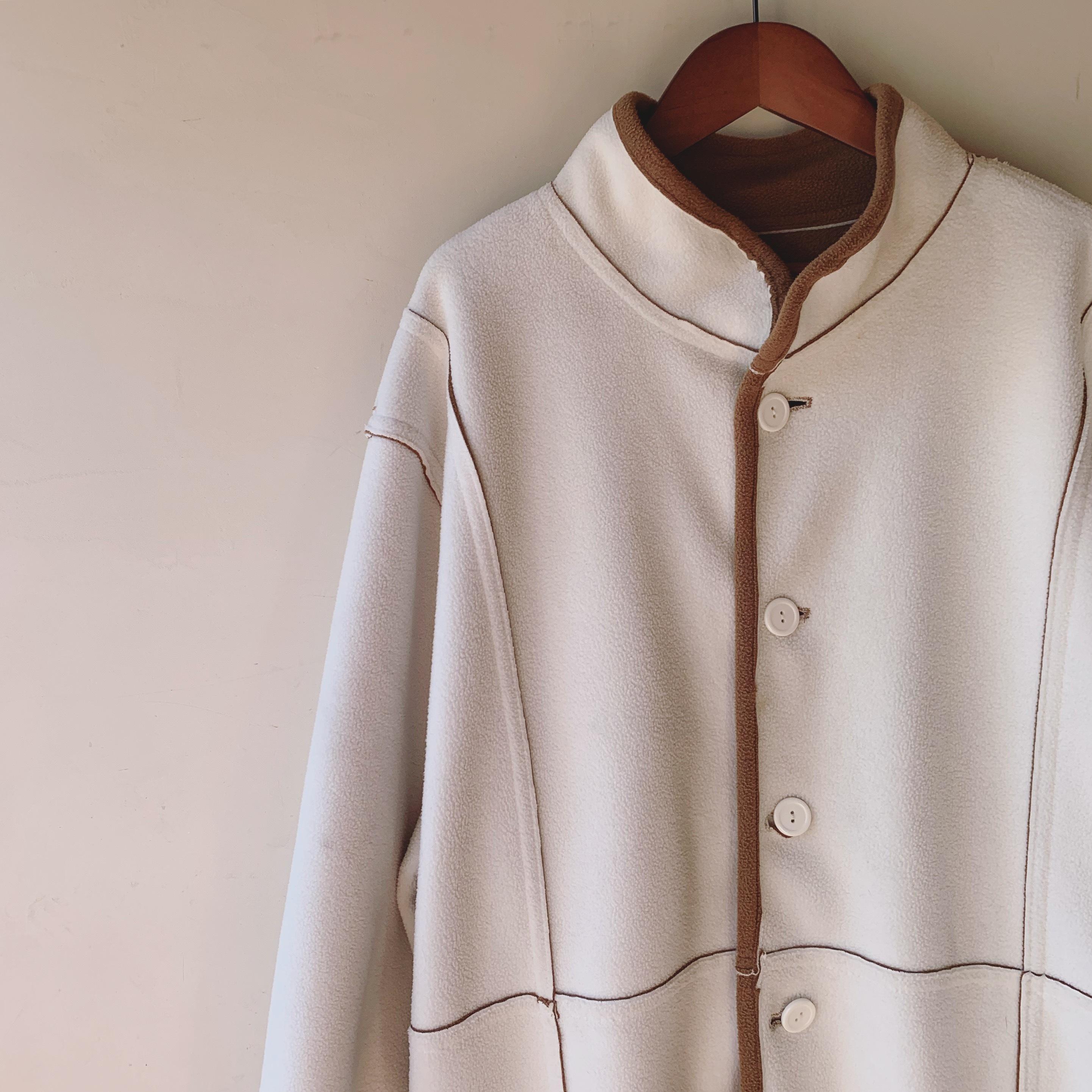 vintage oversized reverseble coat