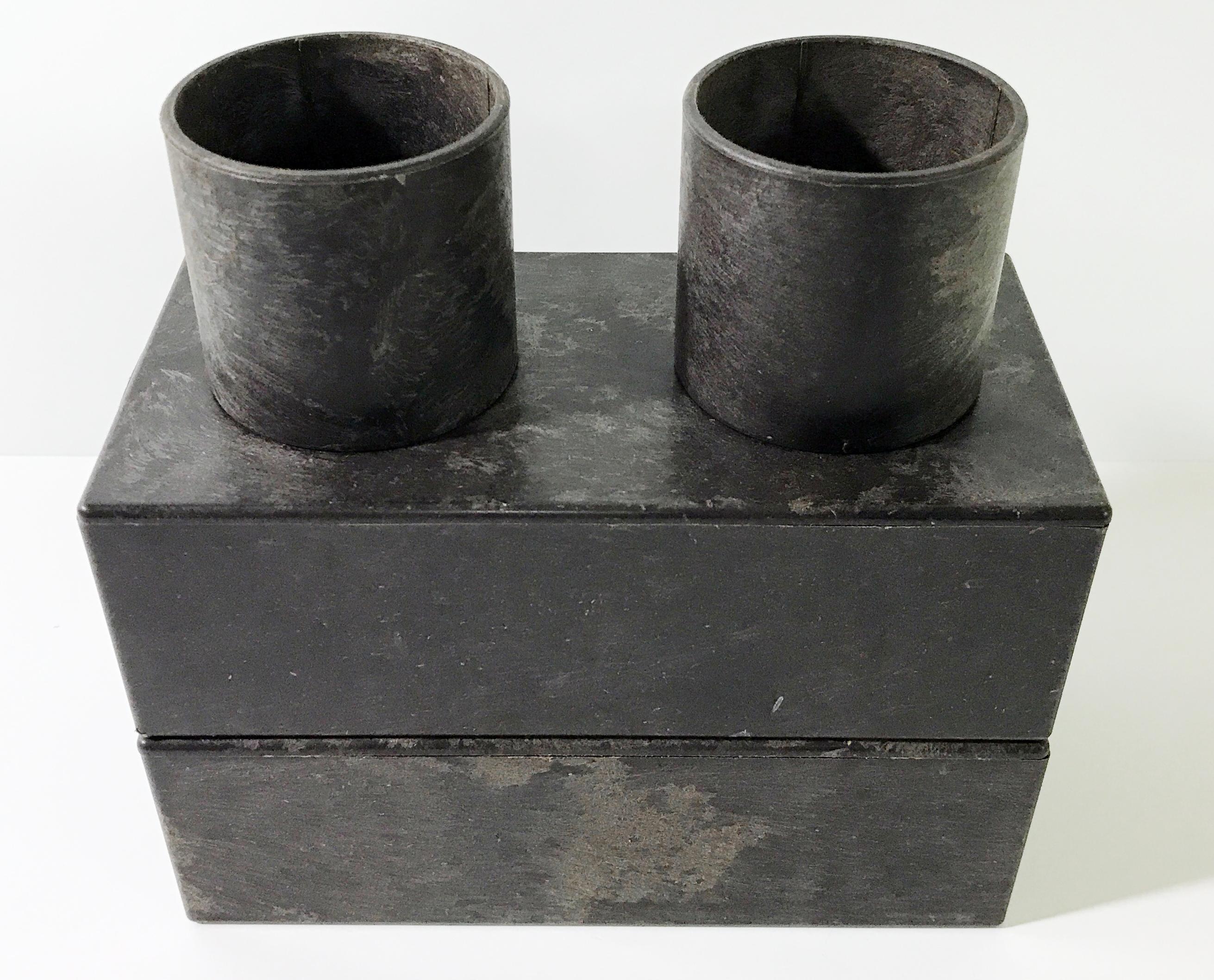 レンブロック ブラウン 筒ブロックキット 数量限定