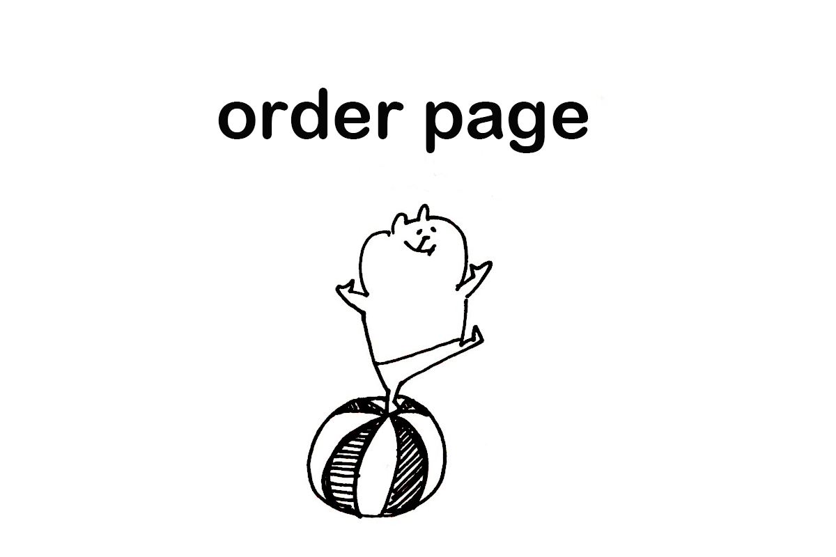 m様 order page