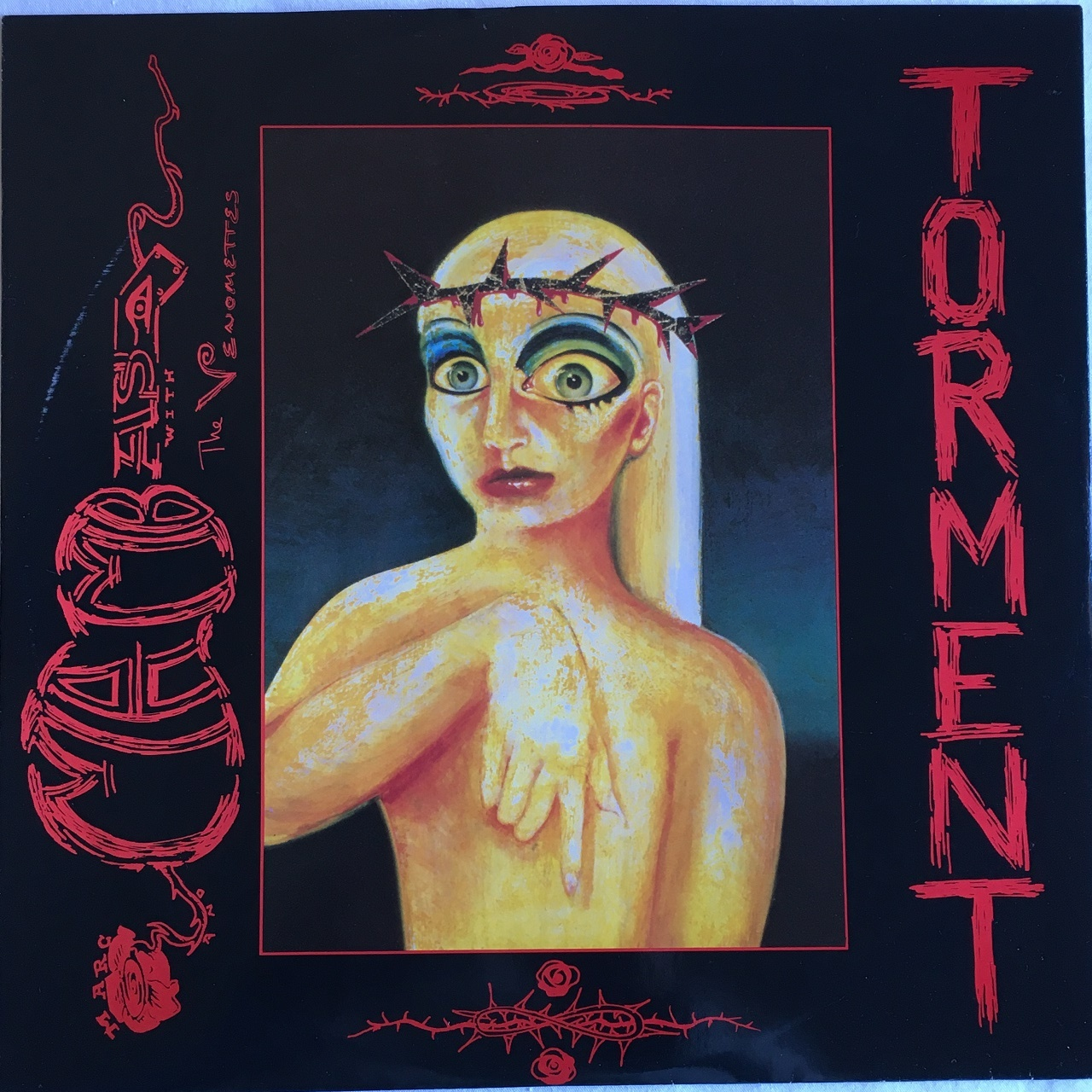 【12inch・英盤】Marc And Mambas  with The Venomettes ‎ /  Torment