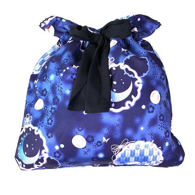 白妙の追憶 大きなお菓子入れバッグ/BK-BL