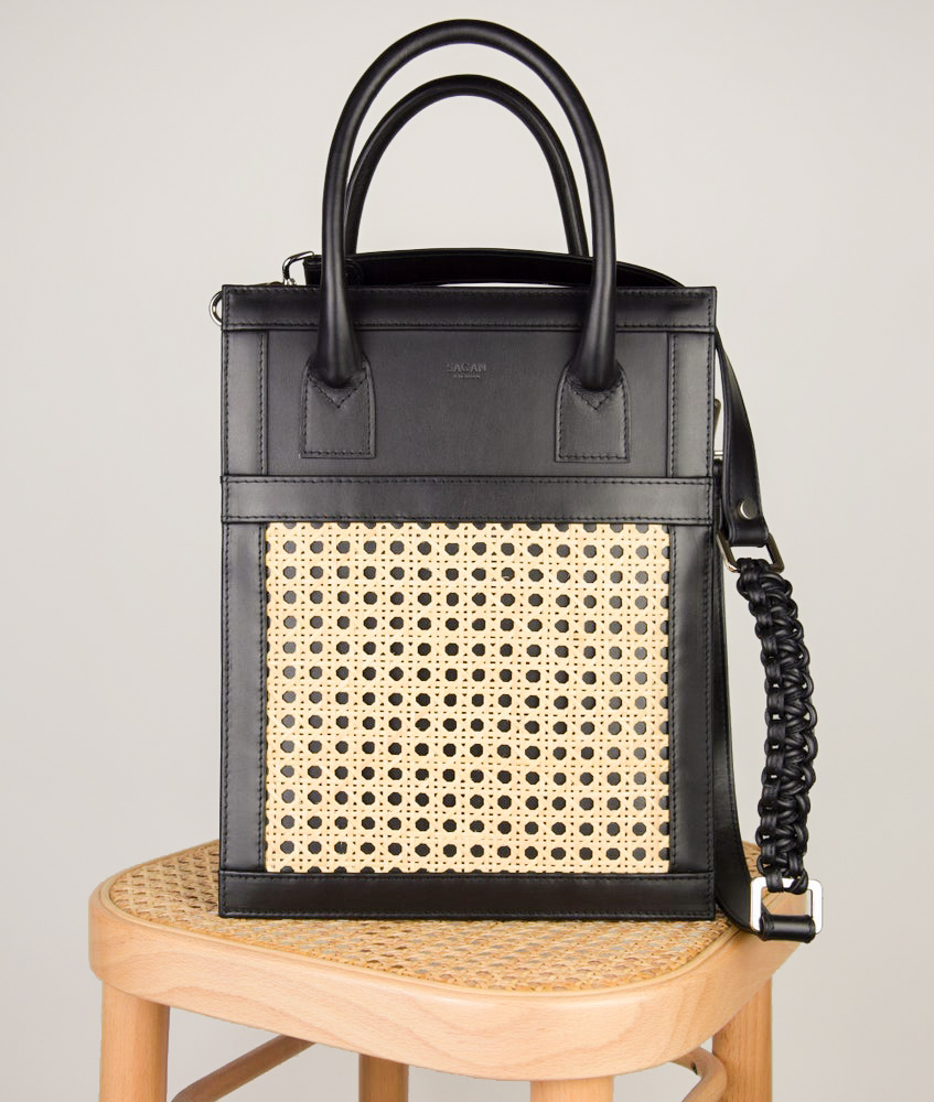 SHOPPER BAG MEDIUM BLACK