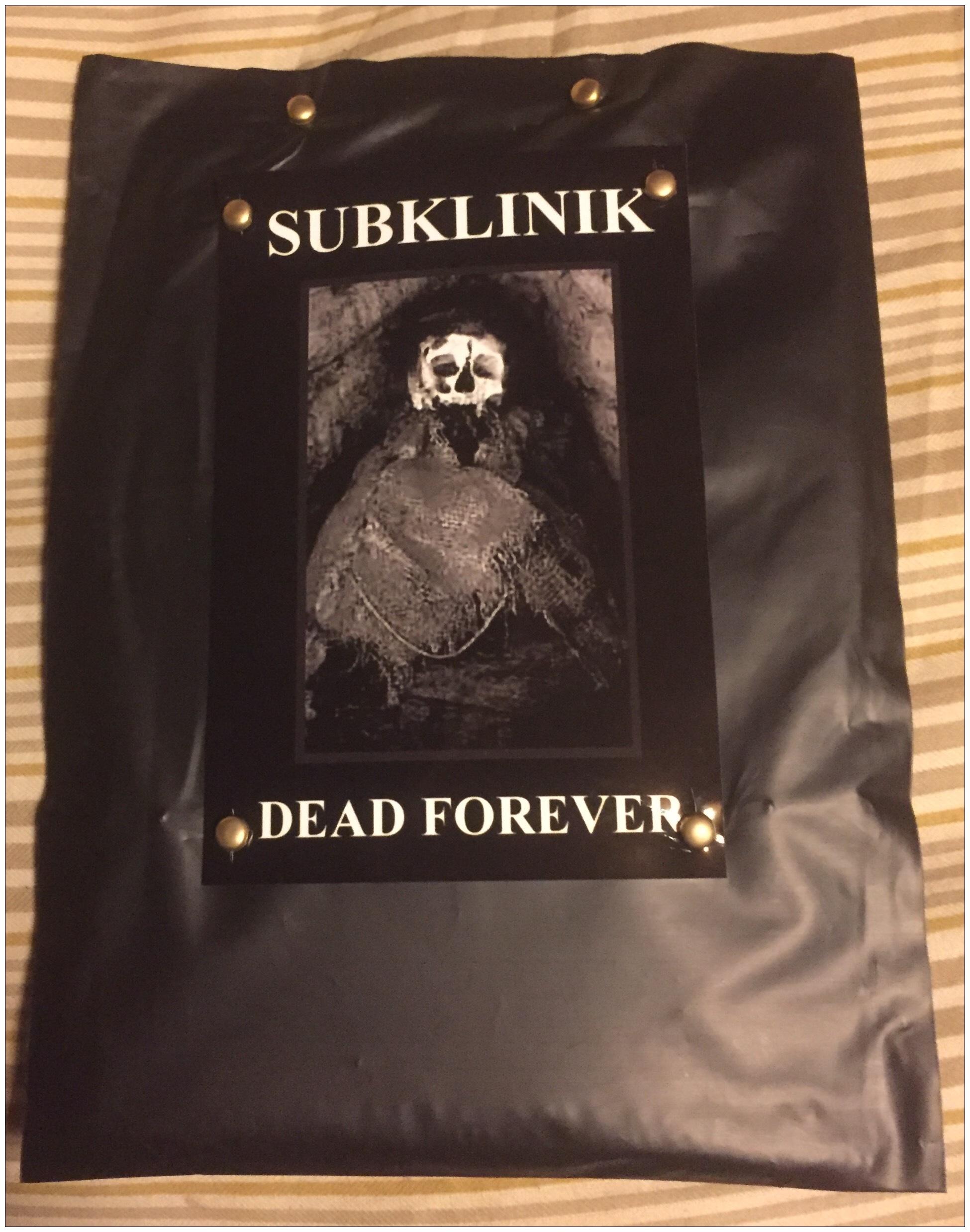 Subklinik - Dead Forever  Tape - 画像1